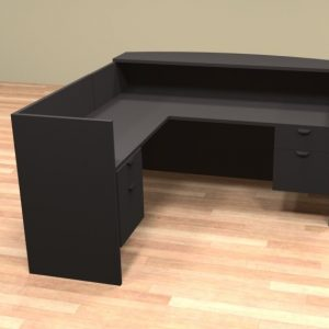 Common Sense of Orlando carries the l shaped desk, the perfect rental furniture for any office.