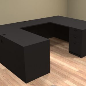 Common Sense of Central Florida carries the u shaped desk, perfect for any office set ups.